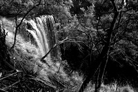 trentham falls - winter