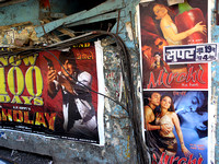 movie posters, mumbai