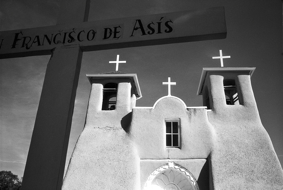 san francisco de asis, ranchos de taos, nm