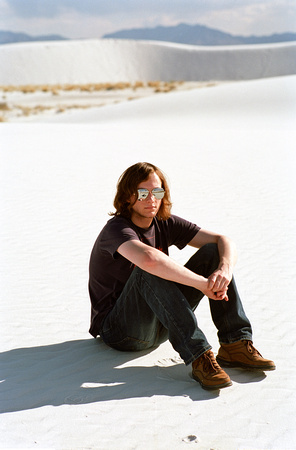 james, white sands, new mexico