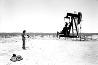 oil well, west texas